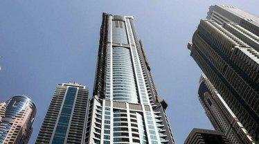 Горел 53 этаж  - фото 1