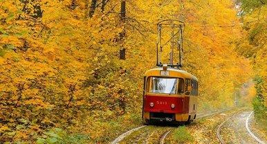 Трамваи в Пущу-Водицу не ездили со 2 августа - фото 1