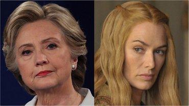Хиллари Клинтон сравнила себя с Серсеей из Игры престолов - фото 1