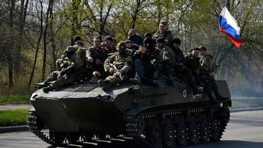 Боевики не хранят технику в положенных местах - фото 1