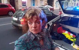 Алину Радченко избил неизвестный - фото 1