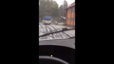В Украине выпал первый снег - фото 1