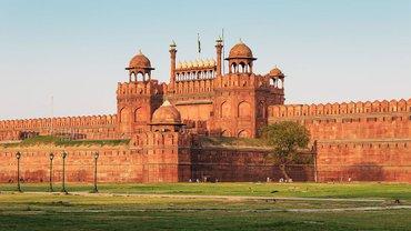 Красный форт в Дели, где посла Украины украли - фото 1