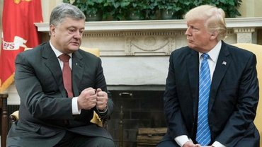 Встреча Порошенко и Трампа - фото 1