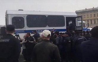 В России не задержали только 30 человек причастных к акции в поддержку мусульман - фото 1