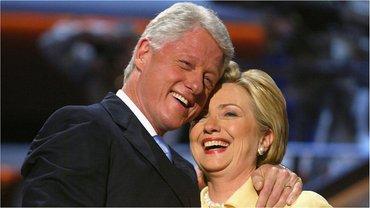 Хиллари и Билл Клинтон - фото 1