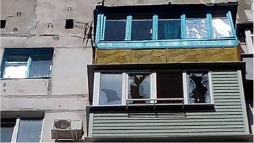 В квартире выбиты окна - фото 1