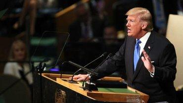Трамп выступил в ООН  - фото 1