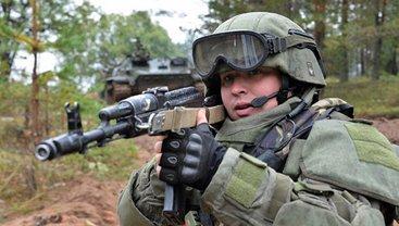 Российские террористы учатся бороться с ДРГ - фото 1