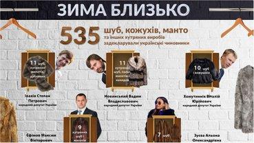 Сколько шуб задекларировали чиновники - фото 1