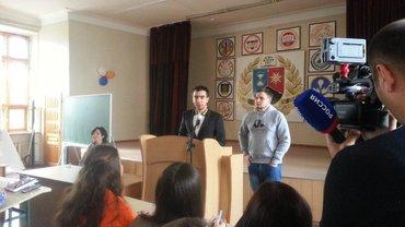 """Вован и Лексус на лекции для студентов-""""журналистов"""" - фото 1"""