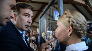 Тимошенко могут наказать из-за прорыва Саакашвили - фото 1