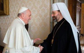 Папа римский Франциск встретился с главой УГКЦ - фото 1