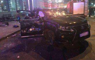 Елена Зайцева была за рулем Lexus, который влетел в пешеходов - фото 1