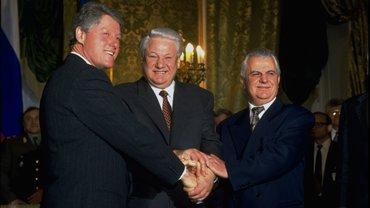 Три президента: Клинтон, Ельцин и Кравчук - фото 1