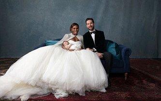 Свадьба Серены Уильямс и Алексиса Оганяна  - фото 1
