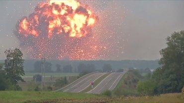 Взрывы в Калиновке - фото 1
