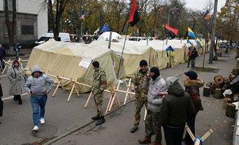 На акцию Саакашвили пришло не больше 500 человек - фото 1