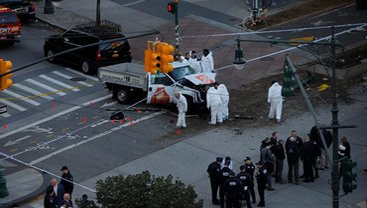 Накануне Хэллоуина в Нью-Йорке произошел теракт  - фото 1