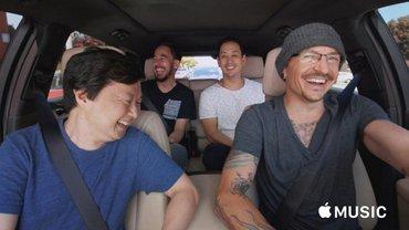 Linkin Park в последнем шоу с участием Честера Беннингтона - Carpool Karaoke - фото 1