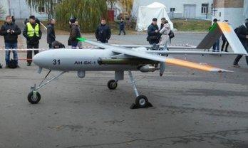 """Беспилотник """"Горлица"""" пролетел над аэропортом Гостомеля - фото 1"""