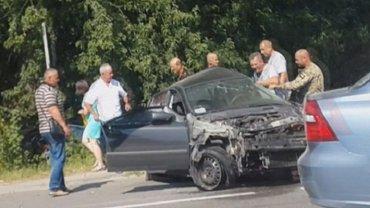 Автомобиль Дыминского сбил жительницу Львовской области - фото 1