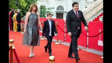 Жена Саакашвили является гражданкой Нидерландов - фото 1