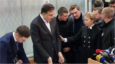 Саакашвили готовы брать на поруки Соболев и Тимошенко - фото 1