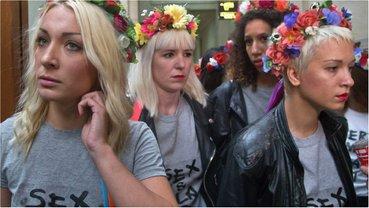 Femen провели акцию в Ватикане - фото 1