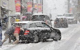 В Украине снова начнутся снегопады - фото 1