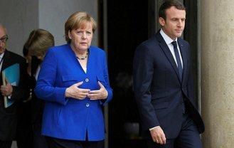 Меркель и Макрон напомнили о бессрочном прекращении огня на Донбассе - фото 1