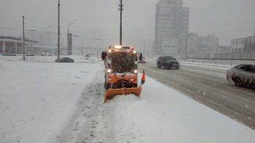 Киев засыпает снегом - фото 1