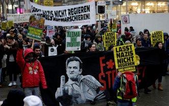Акции протеста в Вене - фото 1
