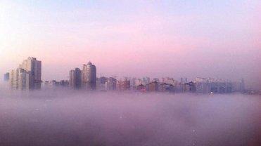 Синоптики предупреждают о сильном тумане в Киеве 6 января - фото 1