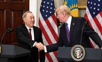Назарбаев встретился с Трампом - фото 1