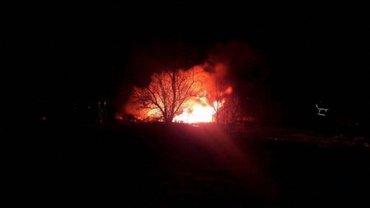 В Кременчуге упал вертолет - фото 1