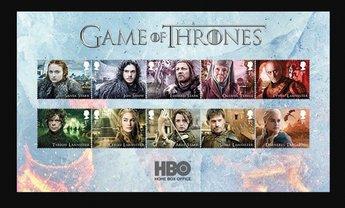 """Королевская почта Великобритании выпустит марки с героями """"Игры престолов"""" - фото 1"""