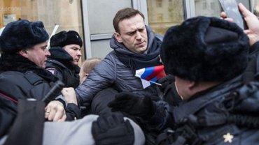 Задержание Навального 28 января 2018 года - фото 1