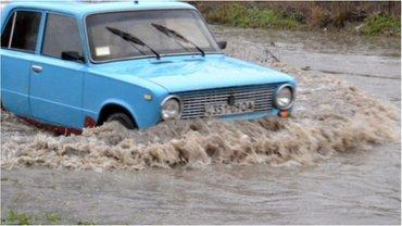 Одессу затопило 18 января 2018 года - фото 1