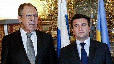 Климкин провел переговоры с Лавровым - фото 1