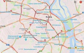 Киев остановился из-за пробок - фото 1