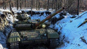 Боевики разместили на Донбассе тяжелую технику - фото 1