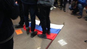 В Киеве националисты напали на здание Россотрудничества - фото 1