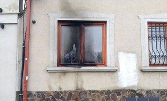 Поджог офиса венгерской общины в Ужгороде - фото 1