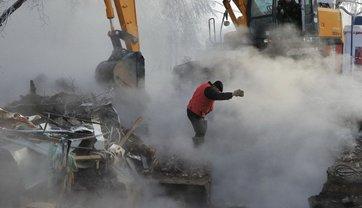 В Харькове 600 домов остались без тепла из-за прорыва сети - фото 1