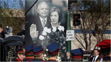 В самолете Ту-154М разбился президент Польши и его жена - фото 1