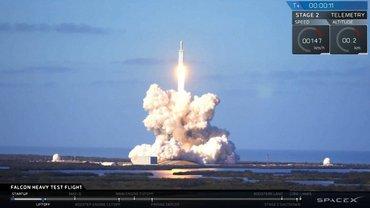 Falcon Heavy запустили в США - фото 1