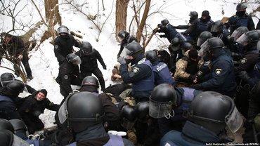 Стычки под Соломенским судом 15 февраля - фото 1