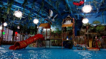 В аквапарке Dream Town упала часть потолка - фото 1