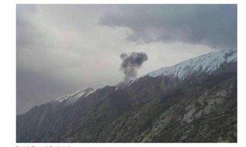 В горах Ирана разбился частный турецкий самолет - фото 1